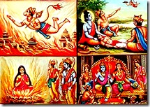 Incidents from the Ramayana