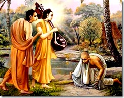 Narada, Parvata, and the hunter