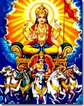 Vivasvan - the sun god