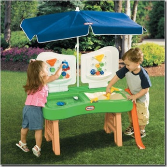 Sand & Water Fun Factory Table