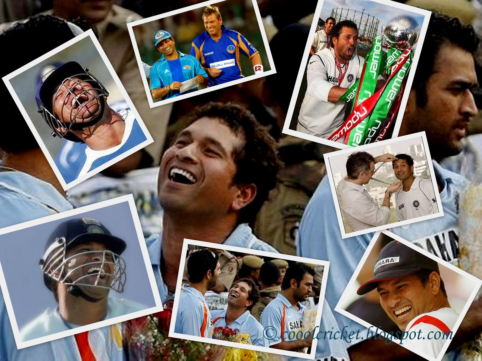 Wallpaper of Sachin's Childhood Memories