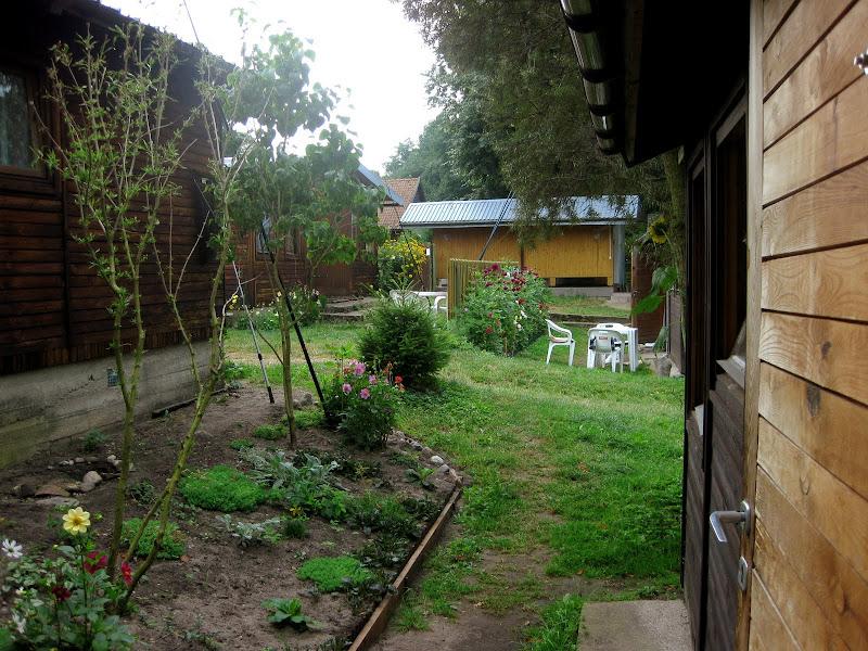 Widok na ośrodek spod naszego domku