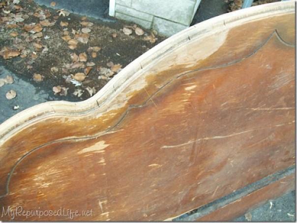 repairing peeling veneer