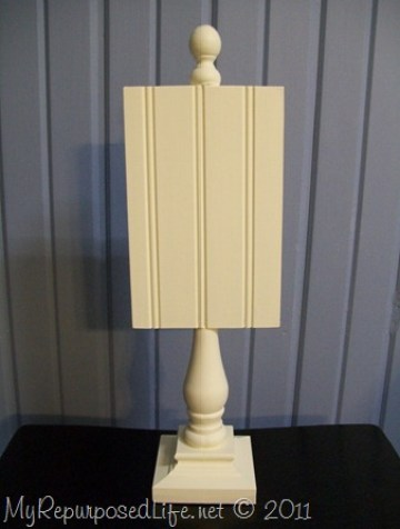 bead board display stand