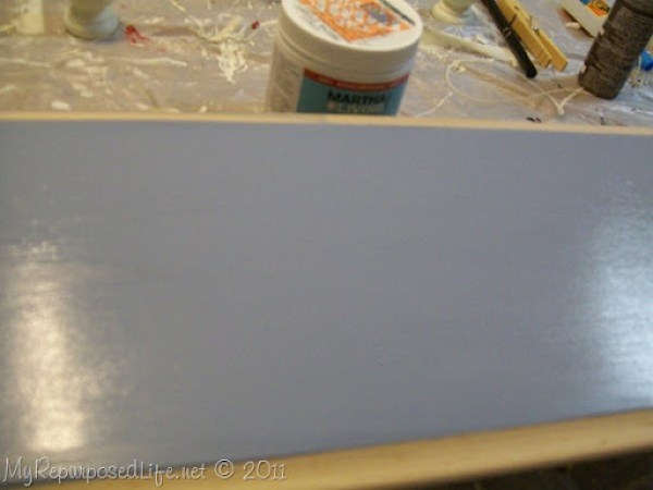 paint easy silhouette sign with paint sample