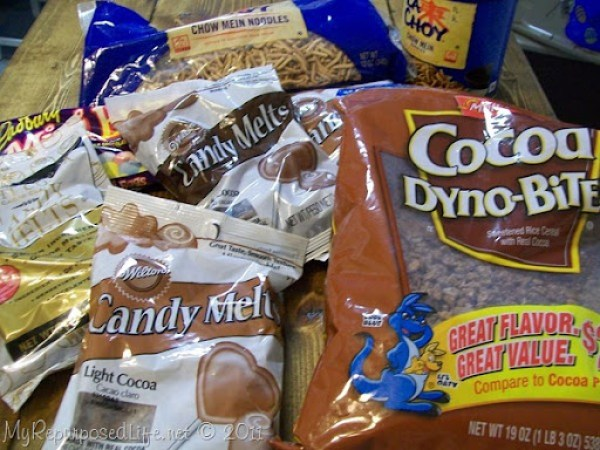 supplies for chocolate bird nest recipe
