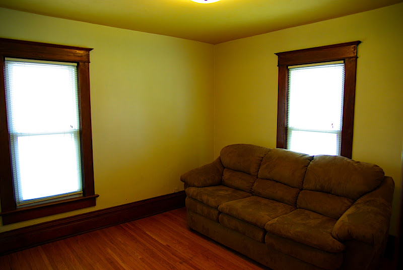 This will be the guest bedroom eventually.  Its right above the kitchen.