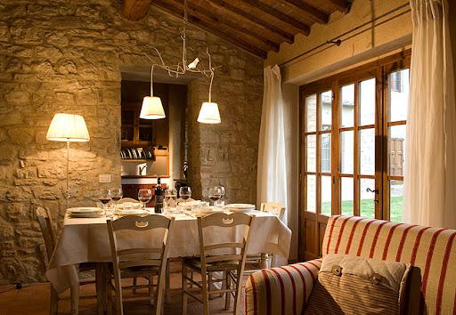 Interior casa toscana