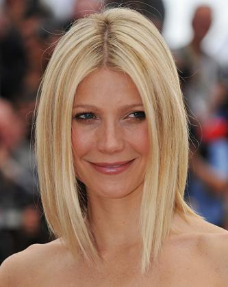 Gwyneth Paltrow long bob hairstyle image