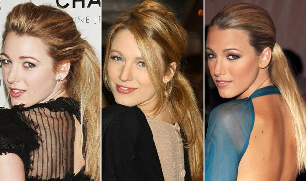 Blake Lively's Hairstyles 2011