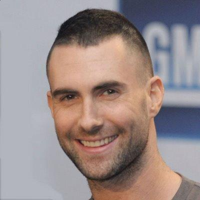 Adam Levine Short Hairstyle for Guys