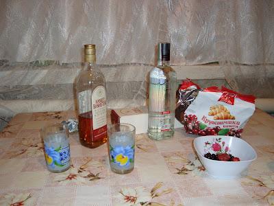 Выпивка и закуска :)