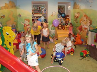 Детская комната в киевском Бебi Баре