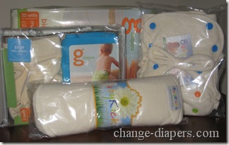 merry fluffy christmas cloth diaper package