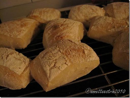 færdige brødstykker