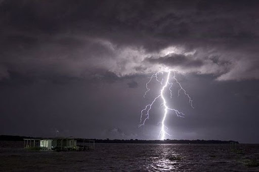 lightning over Catatumbo River