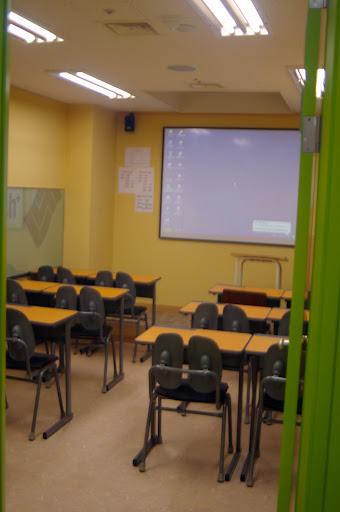 A small classroom