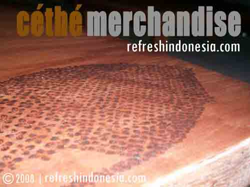 Cethe Funiture | On Table 2 | Kerajinan Tangan Khas Indonesia | Unique Funiture Motif from Cethe Merchandise Refresh Indonesia