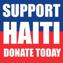 Bionic Beauty blog and The Powder Group list ways on how you can donate and help support Haiti