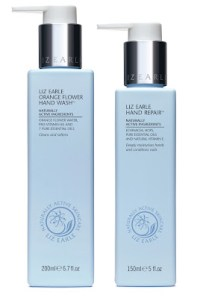 The Bionic Beauty blog reviews Liz Earle hand care - Hand Repair lotion and Orange Flower Hand Wash