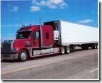 produce hauling  truck