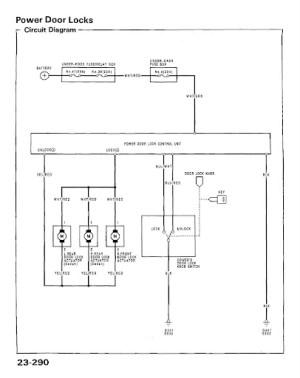 EG6 power lock wiring diagram and alarm install