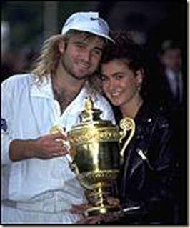 Brooke Shields1992AgassiWinWendon