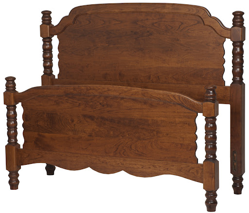 Farmhouse Bed Frames Solid Wood Bed Frame In The