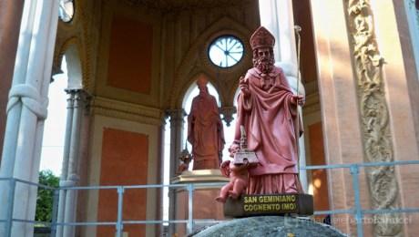 La nuova statuetta di S. Geminiano