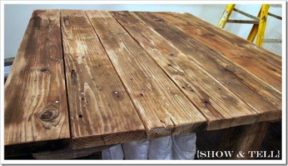 How to weather new wood sweet pickins furniture - Making a steel door look like wood ...