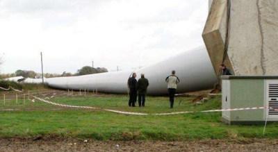 Fallo por carga de hundimiento en la cimentación de un generador eólico