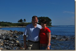 robert and janelle at breakwater