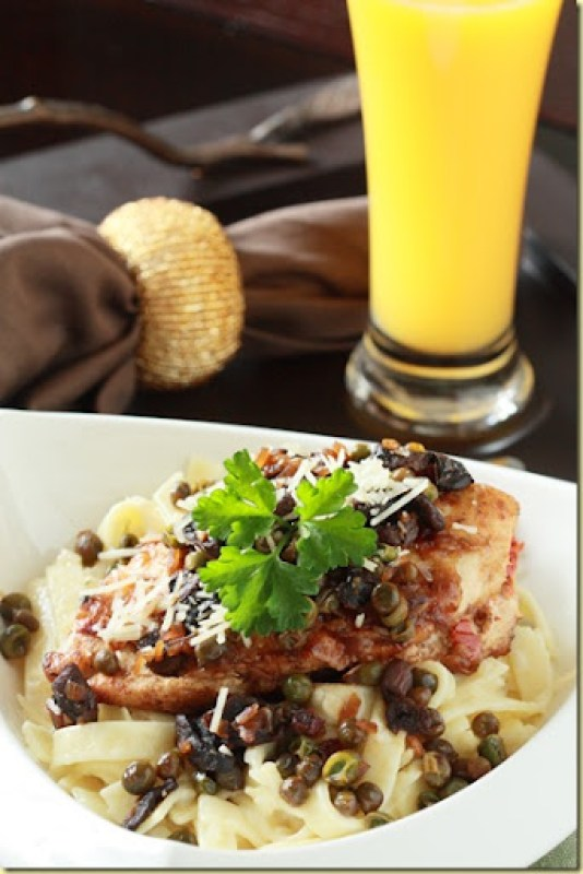 Stuffed Chicken Marsala Recipe is made with juicy chicken stuffed with sundried tomatoes and cheese, then gently cooked in creamy Marsala wine sauce with mushrooms.