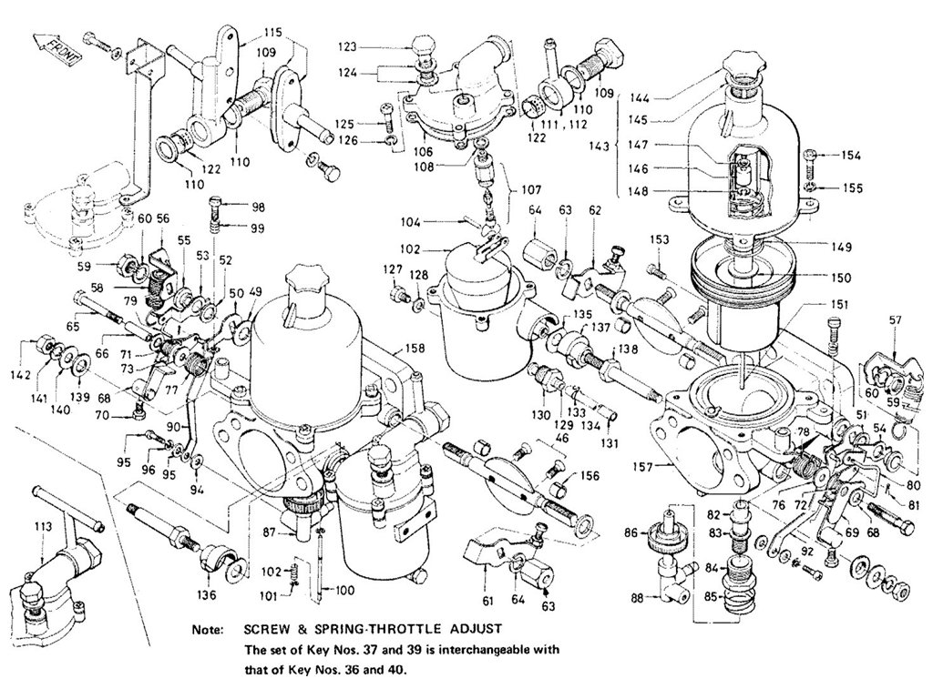Suzuki Ozark 250 Parts Diagram