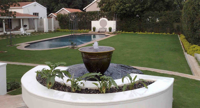 Formal Garden by Ross, in South Africa