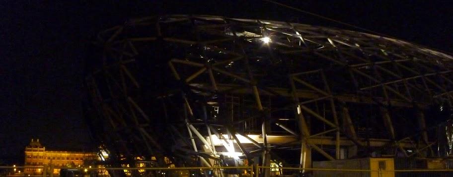 Terran Battle Cruiser under construction