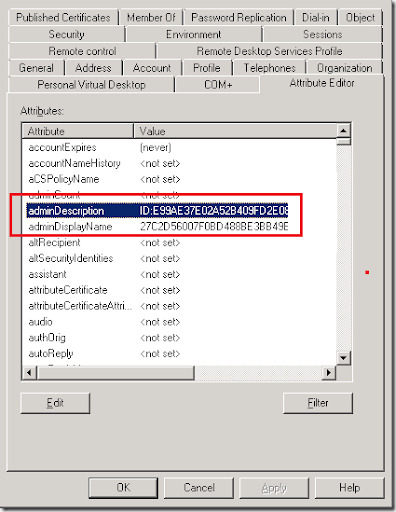Quest migration manager for exchange client profile updating utility