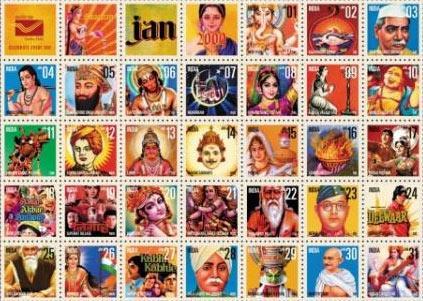 India Post Calendar 2009 - January