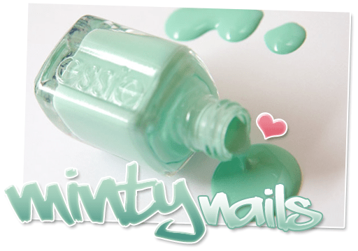 Minty nails – in 2009 … én 2010 !