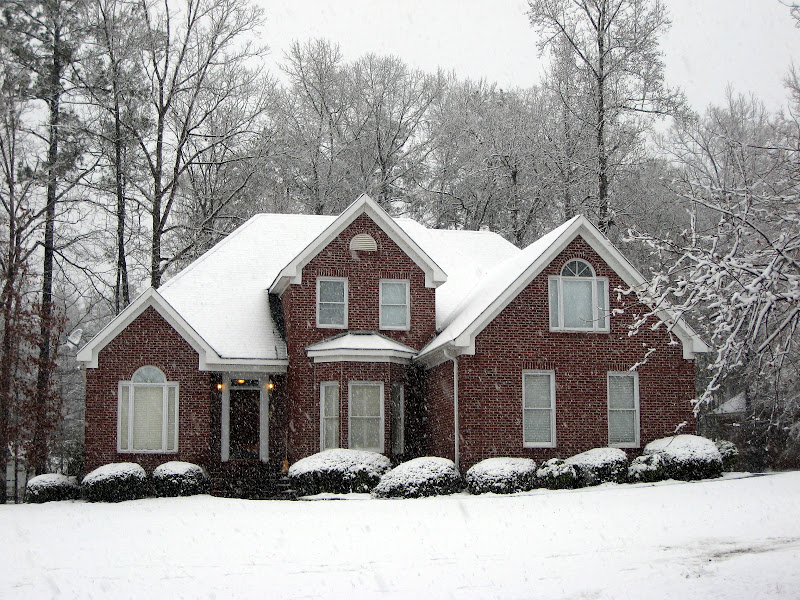 Our Snow-Covered House