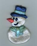 Snowman Ornament 2
