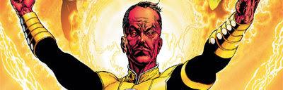 Sinestro (Morro Branco, 1945-), Déspota fascista intergalático, é um cearense espacial.