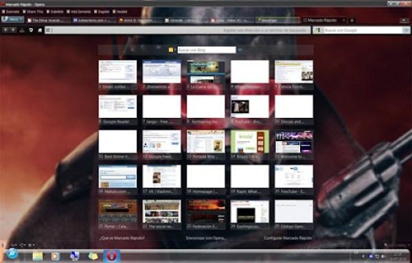 Desktop Opera Skin