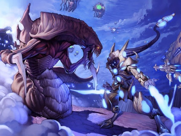 Zerg vs Protoss