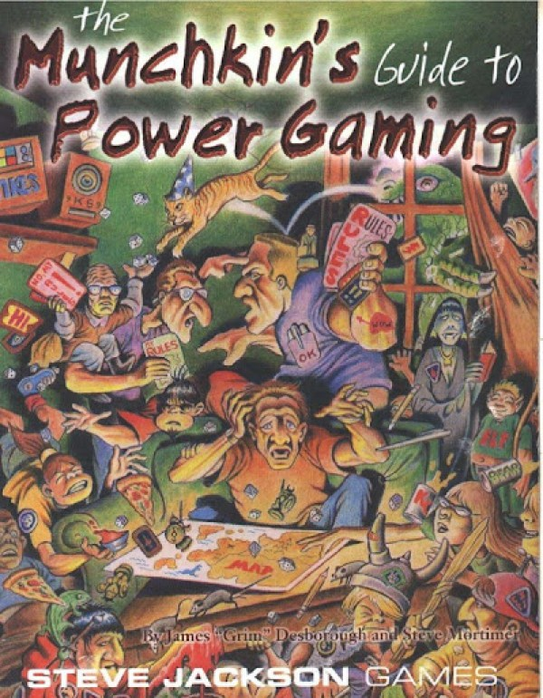 The Munchkin's Guide To Power Gaming - página 1