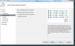 New Load Test Wizard - Scenario - Test Mix Model