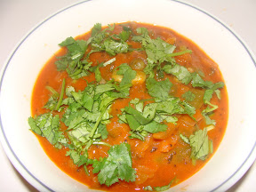 Bell Pepper-Tomato Curry