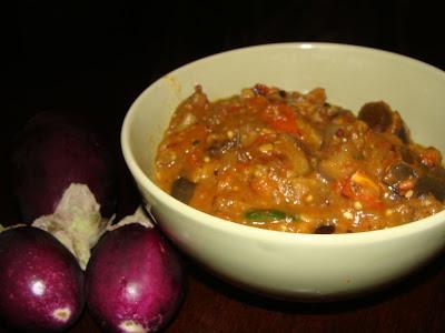 Eggplant Tomato Curry