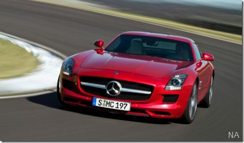 Mercedes SLS AMG6