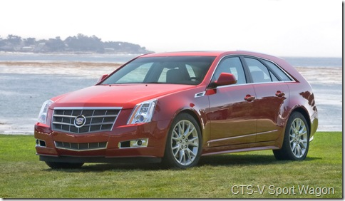 2010 Cadillac CTS Sport Wagon Unveiling